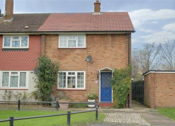Thumbnail 2 bed end terrace house for sale in Barrowfield Close, London
