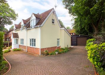 Thumbnail 3 bedroom detached house for sale in Sandy Lane, Church Crookham, Fleet