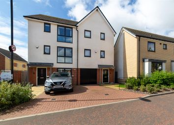 Thumbnail 3 bed town house for sale in Elemore Close, Great Park, Newcastle Upon Tyne