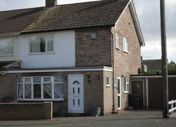 Thumbnail 3 bed semi-detached house to rent in Downing Drive, Evington, Leicester