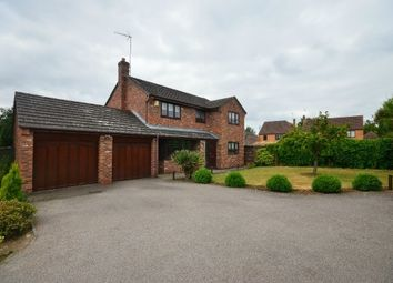 Thumbnail 4 bed detached house for sale in Breck Close, Great Oakley, Corby