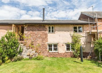 Thumbnail 3 bed terraced house for sale in Knowle, Crediton
