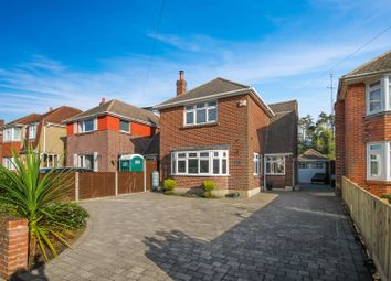 Thumbnail 3 bed detached house for sale in Milestone Road, Oakdale, Poole