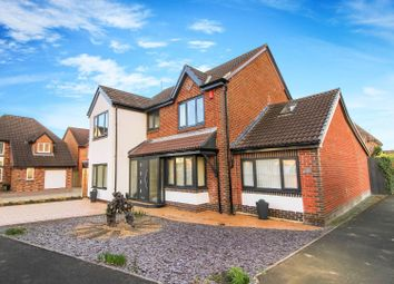 Thumbnail 5 bed detached house for sale in Greenhaugh, West Moor, Newcastle Upon Tyne