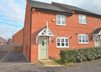 Thumbnail 2 bed semi-detached house for sale in Vulcan Way, Castle Donington, Derby