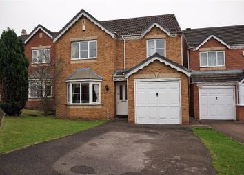 Thumbnail 4 bed detached house for sale in Wrekin Grove, Willenhall