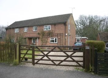 Thumbnail 3 bedroom semi-detached house for sale in Robins Hill, Inkpen, Hungerford