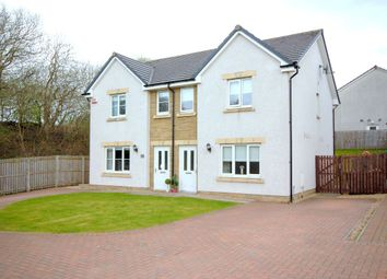 Thumbnail 3 bed semi-detached house for sale in Maple Grove, Bargeddie, Baillieston, Glasgow