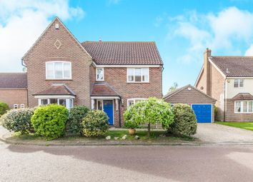 Thumbnail 4 bed detached house for sale in Howards Croft, Colchester
