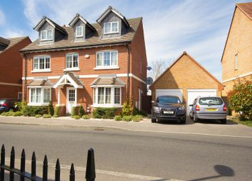 Thumbnail 5 bed detached house for sale in Almond Tree Drive, Weston Turville, Aylesbury