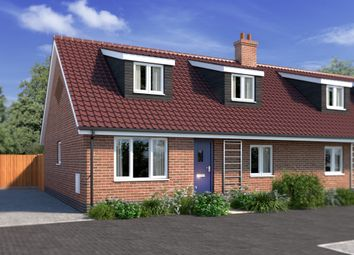 Thumbnail 3 bed semi-detached house for sale in Plot 3 Kells Way, Geldeston, Beccles