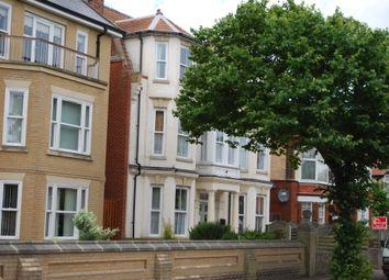 Thumbnail 1 bedroom flat to rent in Kirkley Cliff Road, Lowestoft