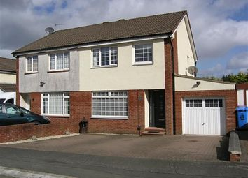 Thumbnail 3 bedroom semi-detached house for sale in Invergarry Drive, Deaconsbank, Glasgow