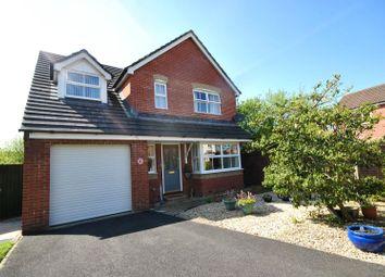 Thumbnail 4 bed detached house for sale in Aiden Avenue, Barnstaple, Devon