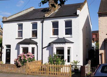 Thumbnail 2 bed semi-detached house for sale in Walpole Road, Teddington