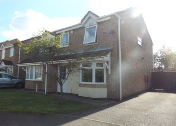 Thumbnail 3 bed semi-detached house to rent in Pickering Drive, Ellistown, Coalville