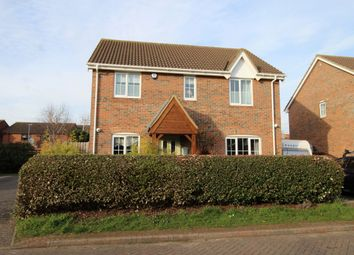 Thumbnail 4 bed detached house to rent in Redwald Close, Kempston, Bedford