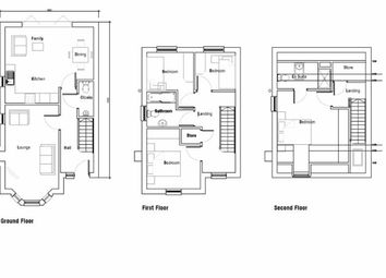 Thumbnail 4 bed semi-detached house for sale in Springfield Road, Wigan