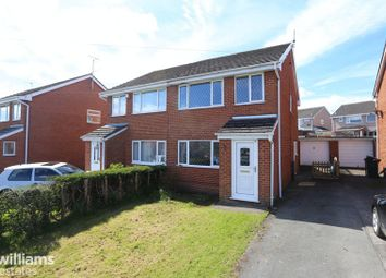 Thumbnail 3 bed semi-detached house for sale in Llys Celyn, Leeswood, Mold