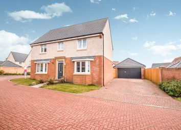 Thumbnail 4 bedroom detached house for sale in Pappin Drive, Motherwell