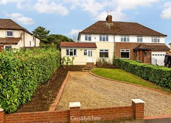 Thumbnail 4 bed semi-detached house for sale in Lower Luton Road, Wheathampstead, Hertfordshire