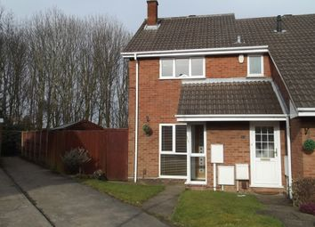 Thumbnail End terrace house for sale in Royal Oak Drive, Selston