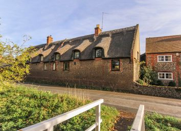 Thumbnail 2 bedroom cottage for sale in The Street, Dalham, Newmarket