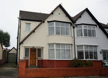 Thumbnail 4 bed semi-detached house for sale in Hatherley Avenue, Crosby, Liverpool