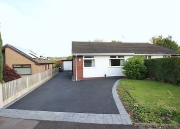 Thumbnail 2 bed semi-detached bungalow for sale in Long Valley Road, Gillow Heath, Staffordshire