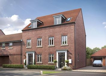 "Thumbnail 3 bed terraced house for sale in ""Greenwood"" at Hutton Close, Newbury"