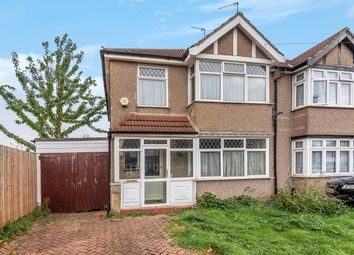 Thumbnail 3 bed semi-detached house for sale in Lulworth Road, London
