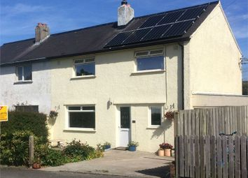 Thumbnail 3 bed semi-detached house for sale in Hillfield Place, Parcllyn, Cardigan, Ceredigion