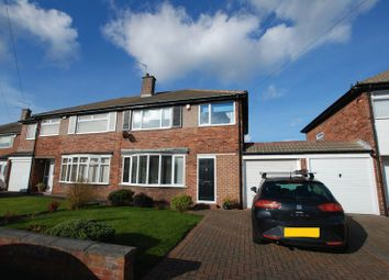 Thumbnail 3 bed semi-detached house for sale in Regent Farm Road, Gosforth, Newcastle Upon Tyne