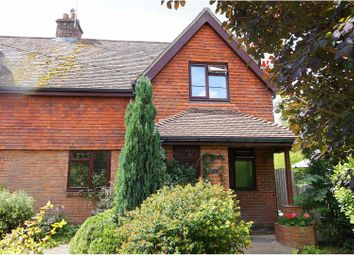 Thumbnail 3 bed semi-detached house for sale in Church Road, Kings Somborne