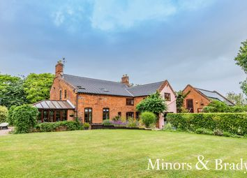 Thumbnail 5 bed detached house for sale in School Lane, Worlingham, Beccles