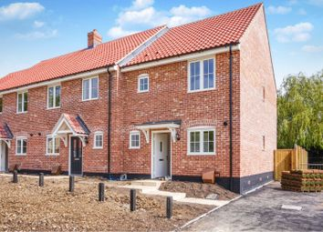 Thumbnail 2 bedroom end terrace house for sale in 13 Aircraft Drive, Watton