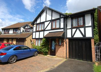 Thumbnail 4 bed detached house for sale in Drayhorse Drive, Bagshot