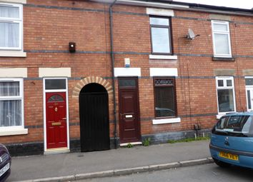 Thumbnail 2 bedroom terraced house to rent in Stockbrook Road, Derby