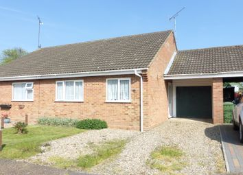 Thumbnail 2 bed bungalow for sale in Granary Close, Lingwood, Norwich, Norfolk