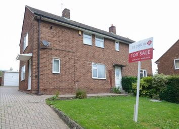 Thumbnail 2 bed semi-detached house for sale in Salisbury Avenue, Chesterfield