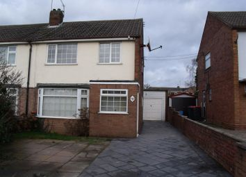 Thumbnail 3 bed semi-detached house to rent in Preston Grove, Trench, Telford