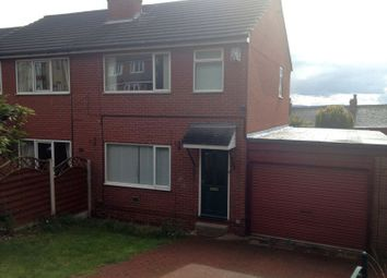 Thumbnail 3 bed semi-detached house to rent in Redland Grove, Staincross, Barnsley