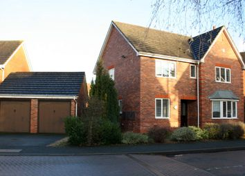 Thumbnail 4 bed detached house to rent in Appletrees Crescent, Woodland Grange, Bromsgrove
