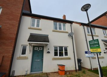 Thumbnail 3 bed property to rent in Delius Close, Swindon