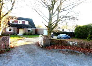 Thumbnail 4 bed detached house for sale in School Road, Lover, Salisbury