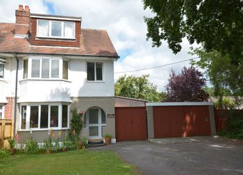 Thumbnail 4 bed semi-detached house for sale in Wimborne Road West, Wimborne