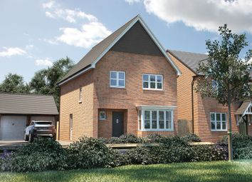 "Thumbnail 4 bedroom detached house for sale in ""The Bredon"" at Winchester Road, Boorley Green, Botley"
