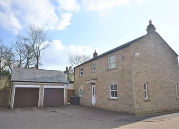 Thumbnail 4 bed detached house for sale in Pike Close, Hayfield, High Peak