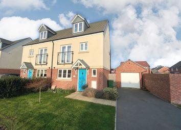 Thumbnail 4 bed semi-detached house for sale in Homington Avenue, Coate, Swindon