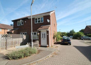 Thumbnail 2 bed semi-detached house for sale in Coppice Way, Aylesbury